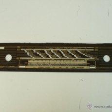 Radios antiguas: CRISTAL DE DIAL. 56 X 10,4 CM. - GRAETZ- REF. 32. Lote 39910265