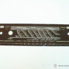 Radios antiguas: CRISTAL DE DIAL. 52,3 X 12,6 CM. - REF. 39. Lote 39910402