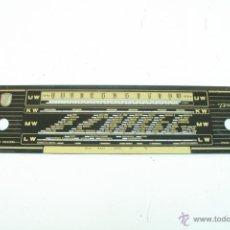 Radios antiguas: CRISTAL DE DIAL. 52 X 11,5 CM. - TRUXA- REF. 40. Lote 39910418