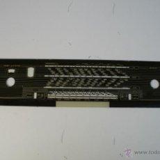 Radios antiguas: CRISTAL DE DIAL. 53 X 11,5 CM. - REF. 16. Lote 39940016