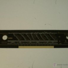 Radios antiguas: CRISTAL DE DIAL. 40,9 X 8,6 CM. - SABA- REF. 45. Lote 39942029