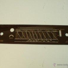Radios antiguas: CRISTAL DE DIAL.49 X 11 CM. - REF. 52. Lote 39946607