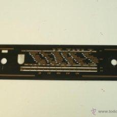 Radios antiguas: CRISTAL DE DIAL.39,6 X 9 CM. -- REF. 64. Lote 39948604
