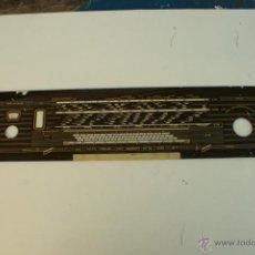 Radios antiguas: CRISTAL DE DIAL.60,5 X 12,3 CM. -- REF. 72. Lote 39949103