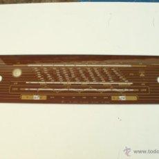 Radios antiguas: CRISTAL DE DIAL.50,8 X 12 CM. -GRUNDIG- REF. 74. Lote 39949477