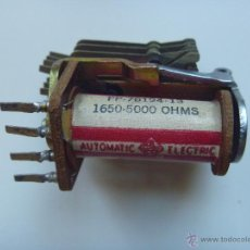 Radios antiguas: TRANSMISOR AUTOMATIC ELECTRIC 1650-5000 OHMS. Lote 40451949