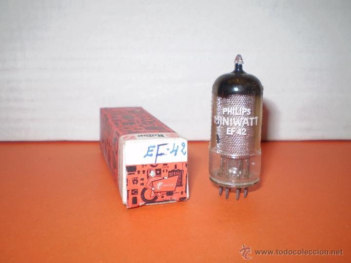 VALVULA EF42-NOS. (Radios, Gramófonos, Grabadoras y Otros - Repuestos y Lámparas a Válvulas)