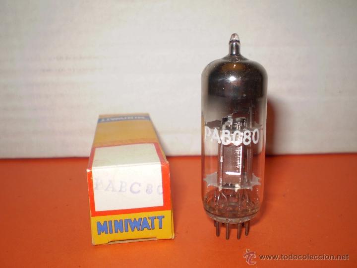 VALVULA PABC80-NOS. (Radios, Gramófonos, Grabadoras y Otros - Repuestos y Lámparas a Válvulas)