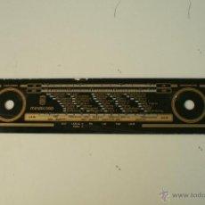 Radios antiguas: CRISTAL DE DIAL.43,2 X 8,5 CM. - MINERVA -MINERCORD-REF. 53. Lote 39946667