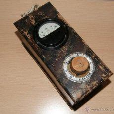 Radios antiguas: ANTIGUO VOLTIMETRO PARA RADIO DE VÁLVULAS. DE LA MARCA SEVEIS. Lote 43008591
