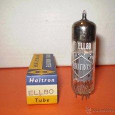 Radios antiguas: VALVULA ELL80-HALTRON-NOS/NIB-TUBE.. Lote 52545082