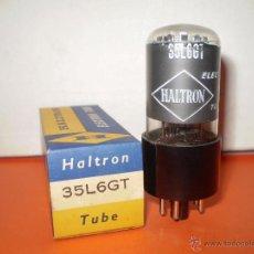Radios antiguas: VALVULA 35L6GT-HALTRON-NOS/NIB-TUBE.. Lote 43298061