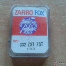 Radios antiguas: AGUJA ZAFIRO FOX 332 ZST BSR. Lote 43303322
