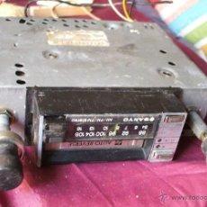 Radios antiguas: RADIOCASSETE SANYO PARA COCHE ANTIGUO NO SE SI FUNCIONA. Lote 44170576
