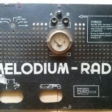 Alte Radios - TAPA TRASERA RADIO. MELODIUM-RADIO - 44423751