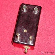 Radios antiguas: VALVULA DE BAQUELITA. Lote 44745261