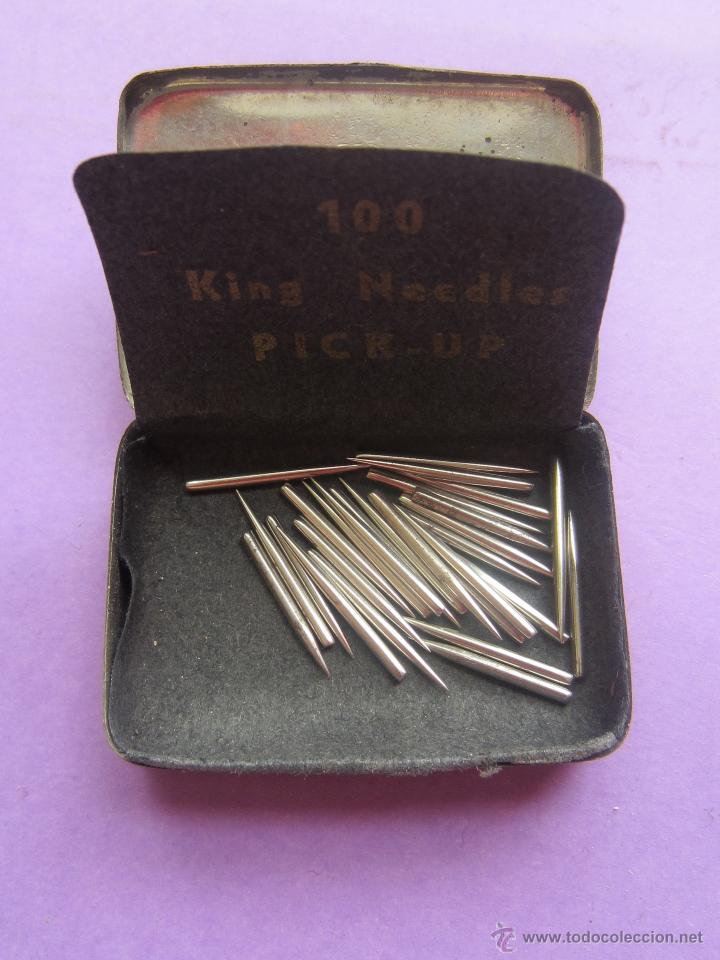 Radios antiguas: Cajita agujas.Pick up Needles.Semi llena. - Foto 3 - 45901659