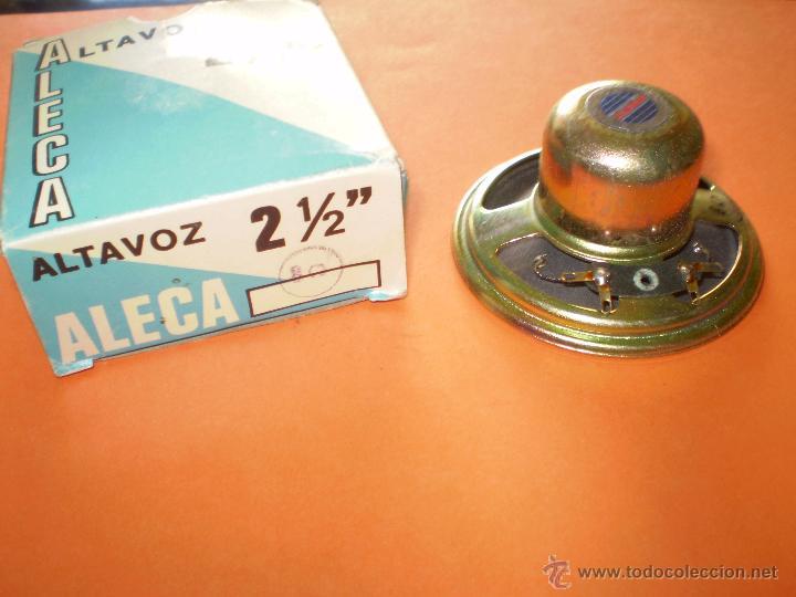 ALTAVOZ ALECA 2 PULGADAS Y MEDIA - 8OHM - NUEVO SIN USO. (Radios, Gramófonos, Grabadoras y Otros - Repuestos y Lámparas a Válvulas)