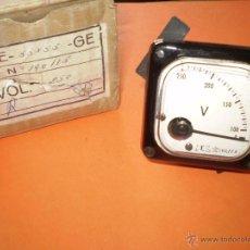Radio antiche: ANTIGUO VOLTIMETRO SIN USO.. Lote 46215663
