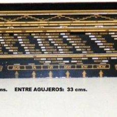 Radios antiguas: DIAL PARA RADIO A VÁLVULAS GRAETZ 151W. Lote 46236017