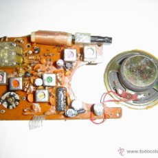Rádios antigos: CIRCUITO IMPRESO CON COMPONENTES. Lote 46369614