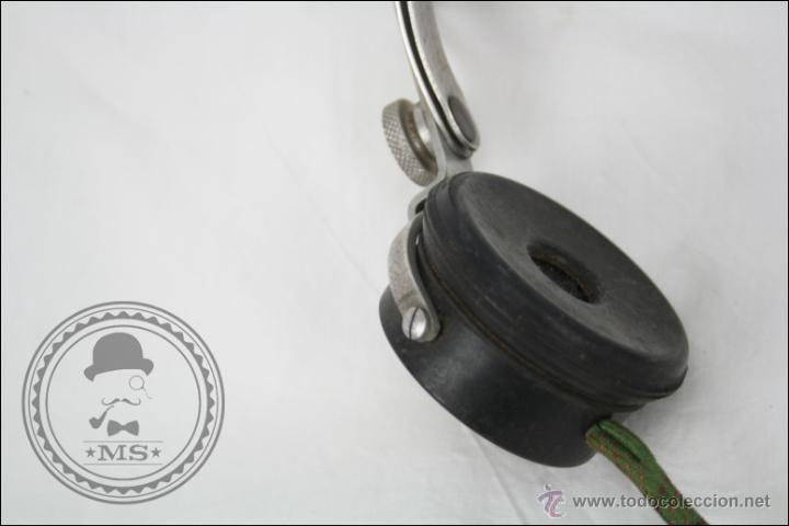Radios antiguas: Antiguos Auriculares para Radio de la Casa Pival - Pival 2000 Ohms - Buen Estado General - Foto 4 - 46689134