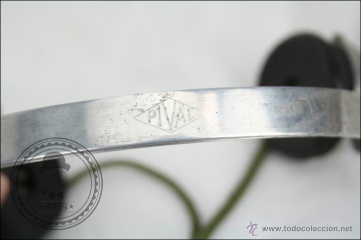 Radios antiguas: Antiguos Auriculares para Radio de la Casa Pival - Pival 2000 Ohms - Buen Estado General - Foto 10 - 46689134