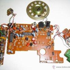 Radios antiguas: CIRCUITO IMPRESO CON COMPONENTES. Lote 46710672