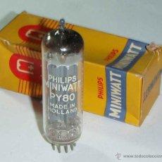 Radios antiguas: VALVULA PY80. Lote 48038269