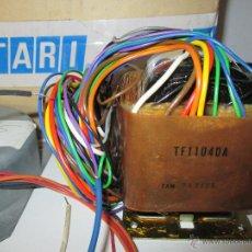 Radios antiguas: TRANSFORMADOR MAGNETOFONO OTARI PROFESIONAL - TF11040A - NUEVO. Lote 48257677