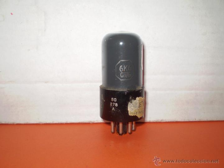 VALVULA 6K6GT-RCA- USADA TESTADA.. (Radios, Gramófonos, Grabadoras y Otros - Repuestos y Lámparas a Válvulas)