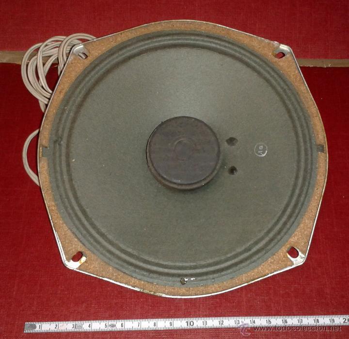 ALTAVOZ DE RADIO ANTIGUO - 20 CM (Radios, Gramófonos, Grabadoras y Otros - Repuestos y Lámparas a Válvulas)