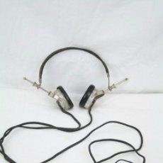 Radios antiguas: ANTIGUOS AURICULARES PARA RADIO BRANDES SUPERIOR - BBC - FABRICADOS EN INGLATERRA - EN BUEN ESTADO. Lote 49558803