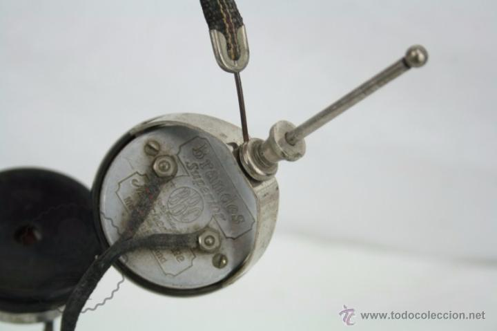 Radios antiguas: Antiguos Auriculares para Radio Brandes Superior - BBC - Fabricados en Inglaterra - En Buen Estado - Foto 9 - 49558803