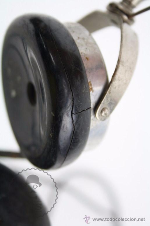 Radios antiguas: Antiguos Auriculares para Radio Brandes Superior - BBC - Fabricados en Inglaterra - En Buen Estado - Foto 10 - 49558803