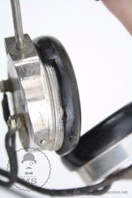 Radios antiguas: Antiguos Auriculares para Radio Brandes Superior - BBC - Fabricados en Inglaterra - En Buen Estado - Foto 11 - 49558803