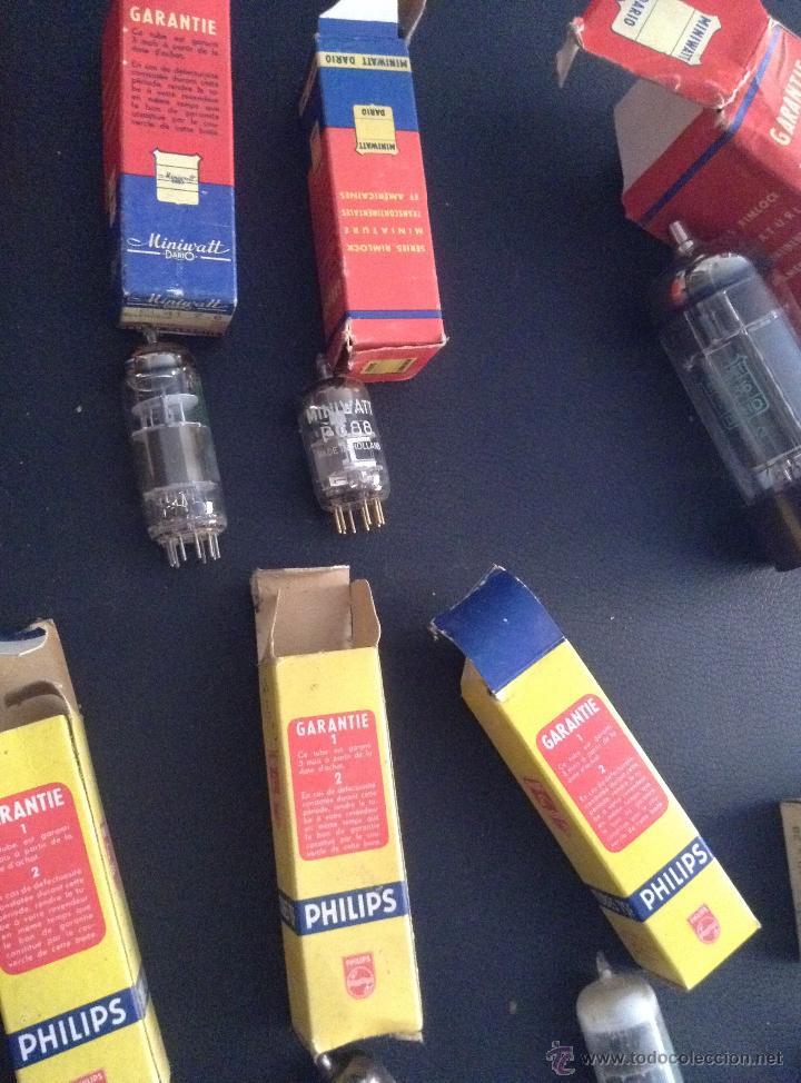 Radios antiguas: lote de valvulas para radio antigua philips miniwatt mazda .... - Foto 4 - 49725280