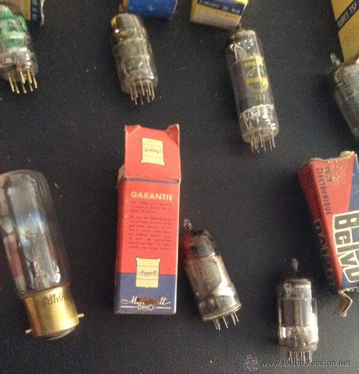 Radios antiguas: lote de valvulas para radio antigua philips miniwatt mazda .... - Foto 5 - 49725280