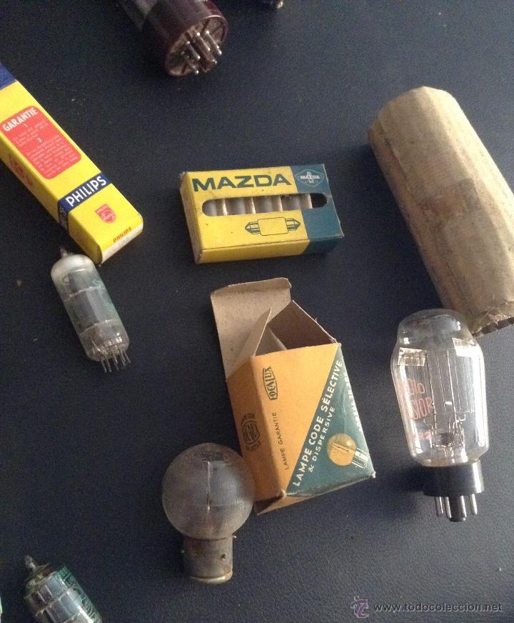 Radios antiguas: lote de valvulas para radio antigua philips miniwatt mazda .... - Foto 6 - 49725280