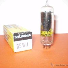 Radios antiguas: VALVULA 35W4-HY90-SYLVANIA-NOS/NIB-TUBE.. Lote 195049872