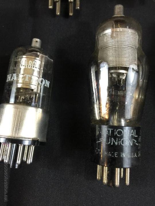 Radios antiguas: lote de valvulas para radio - Foto 3 - 51012786