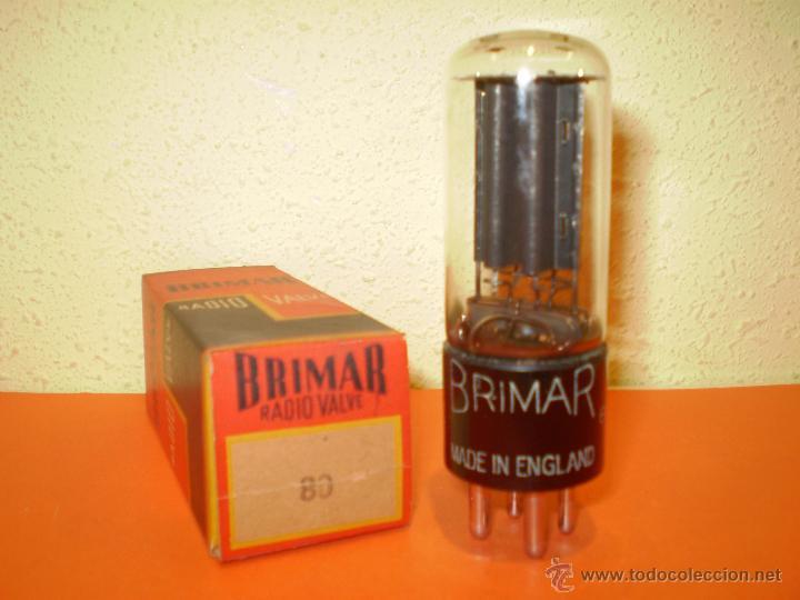VALVULA 80-BRIMAR-NOS/NIB TUBE. (Radios, Gramófonos, Grabadoras y Otros - Repuestos y Lámparas a Válvulas)