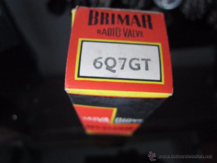 VÁLVULA 6Q7 GT NUEVA (Radios, Gramófonos, Grabadoras y Otros - Repuestos y Lámparas a Válvulas)