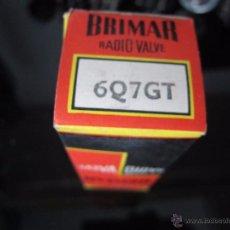 Radios antiguas: VÁLVULA 6Q7 GT NUEVA. Lote 195149240