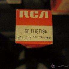 Radios antiguas: VÁLVULA EF184 NUEVA. Lote 53424273