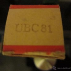Rádios antigos: VALVULA UBC81 NUEVA. Lote 134799011