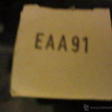 Radios Anciennes: VALVULA EAA91 NUEVA. Lote 267402414