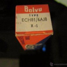 Radios antiguas: VALVULA ECH81 NUEVA. Lote 109502082