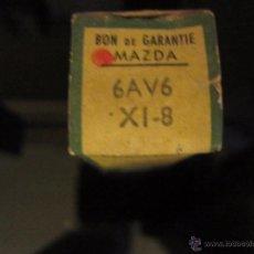 Radios antiguas: VALVULA 6AV6=EBC91 NUEVA. Lote 195163337