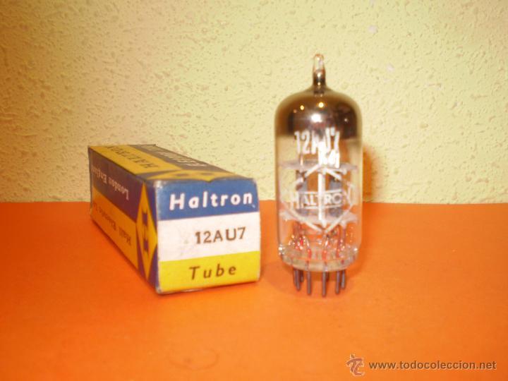 VALVULA 12AU7-ECC82-HALTRON-NOS/NIB-TUBE. (Radios, Gramófonos, Grabadoras y Otros - Repuestos y Lámparas a Válvulas)